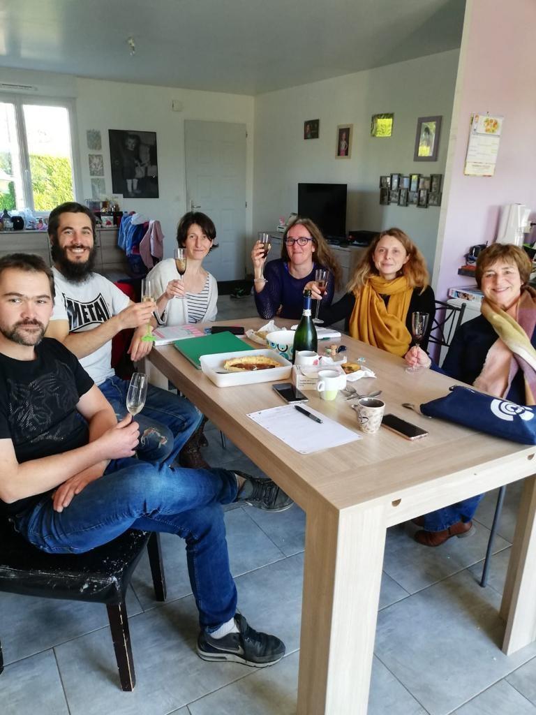 L'équipe fondatrice du projet Ty Pouce