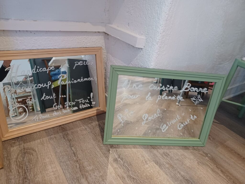 miroirs message